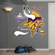 Fathead Minnesota Vikings Logo Wall Decals