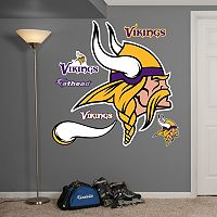 Fathead Minnesota Vikings Logo Wall Decals