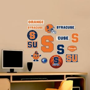 Fathead Syracuse Orange Team Logo Assortment Wall Decals