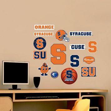 Fathead Syracuse Orange Team Logo Assortment Wall Decals