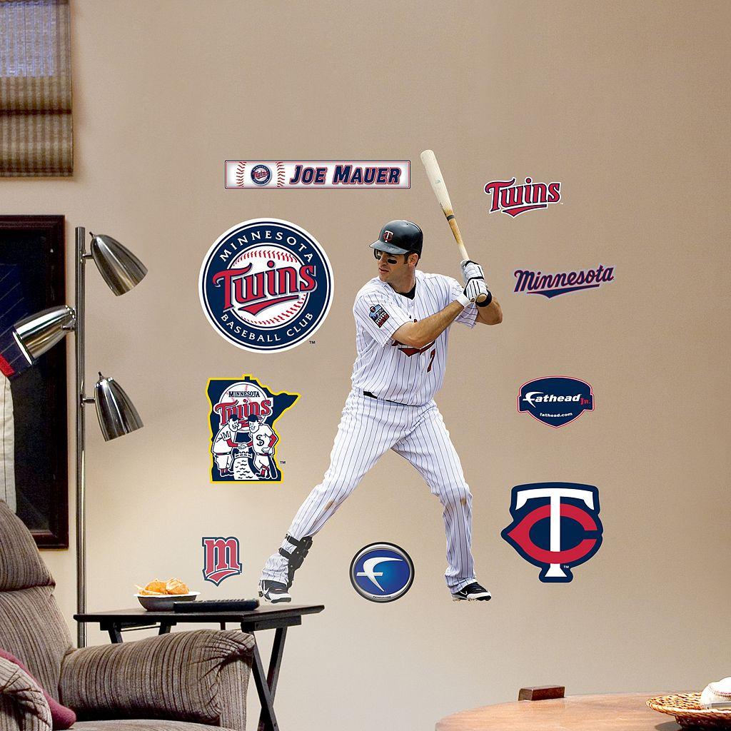 Fathead Jr. Minnesota Twins Joe Mauer Wall Decals