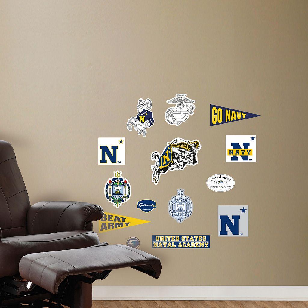 Fathead US Naval Academy Team Logo Assortment Wall Decals