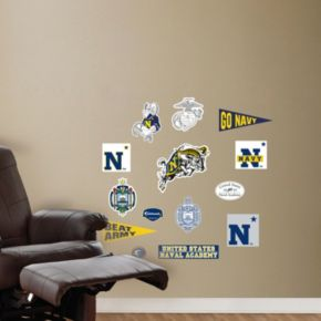 Fathead US Naval Academy Team Logo Assortment Wall Decals