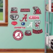 Fathead Alabama Crimson Tide Team Logo Assortment Wall Decals