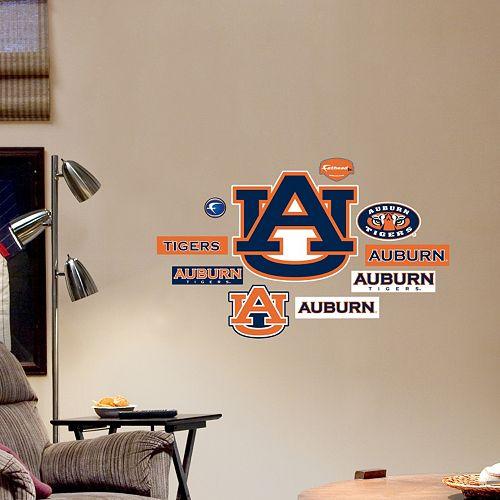 Fathead Auburn Tigers Team Logo Assortment Wall Decals