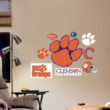 Fathead Clemson Tigers Team Logo Assortment Wall Decals