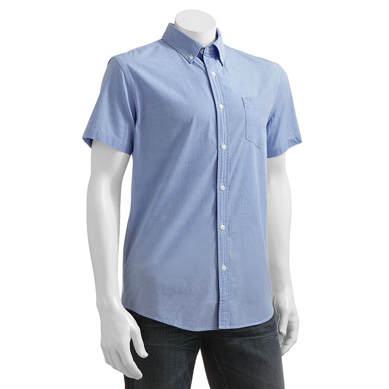 SONOMA life + style Poplin Shirt - Big & Tall
