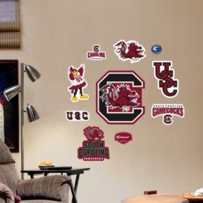 Fathead South Carolina Gamecocks Team Logo Assortment Wall Decals