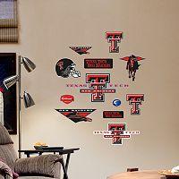Fathead Texas Tech Red Raiders Team Logo Assortment Wall Decals