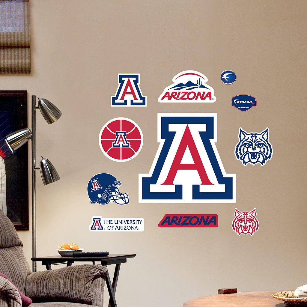 Fathead Arizona Wildcats Team Logo Assortment Wall Decals