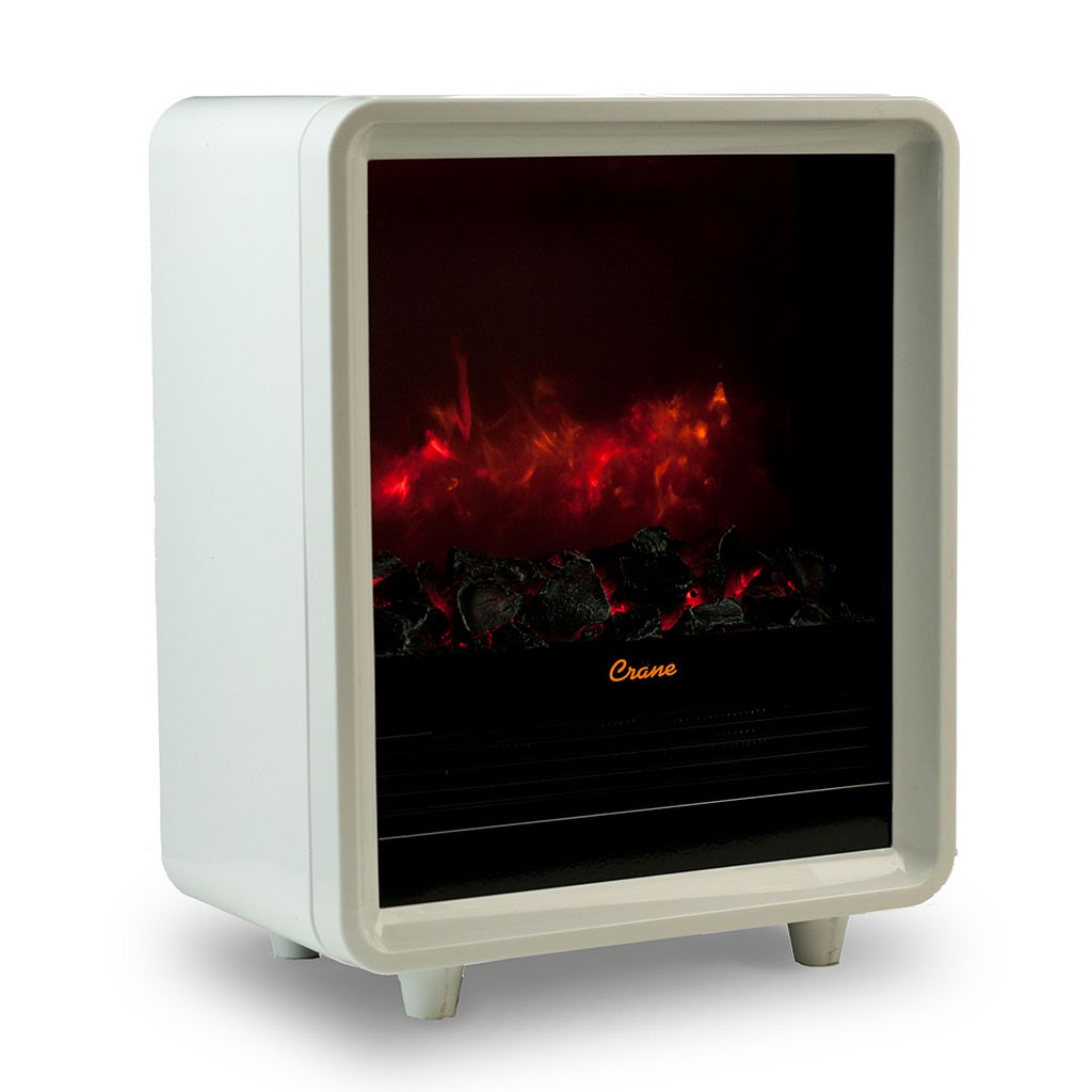 Crane Electric Mini Fireplace Heater