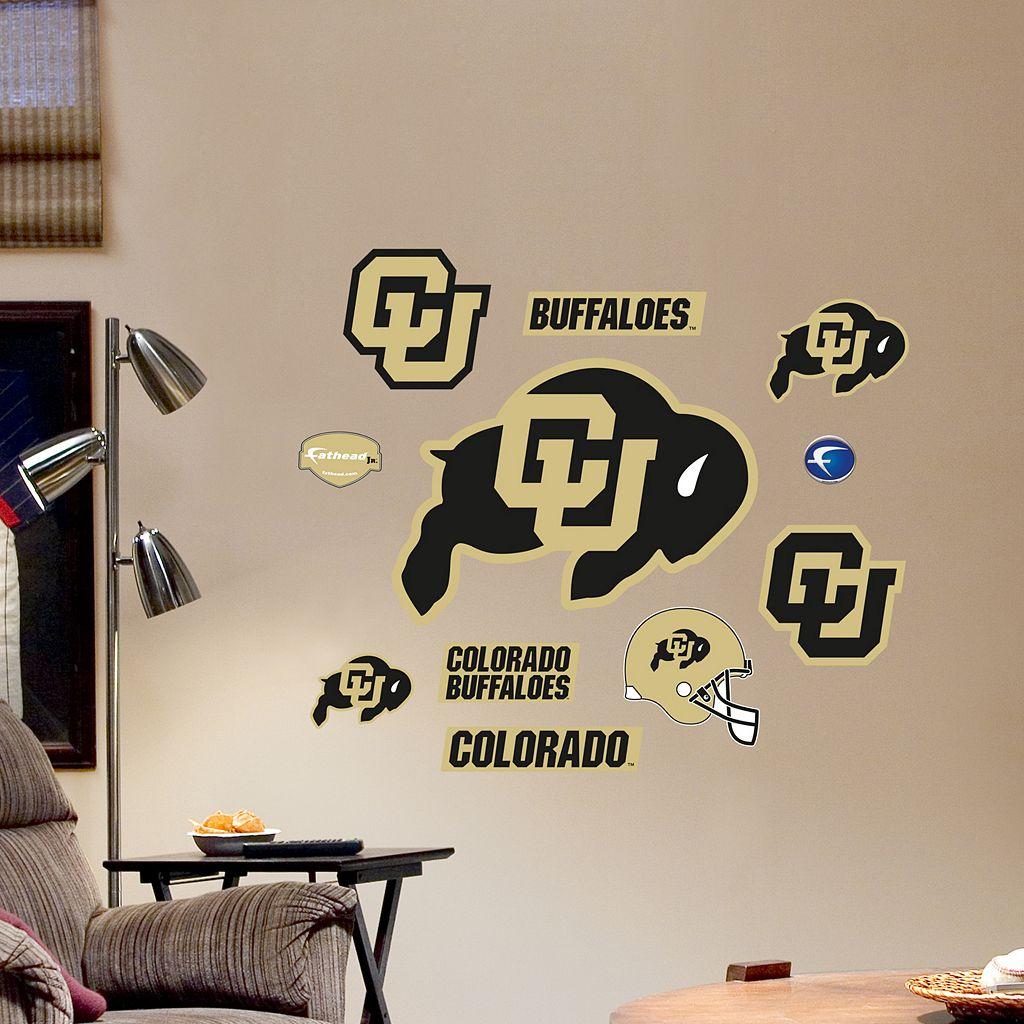 Fathead Colorado Buffaloes Team Logo Assortment Wall Decals