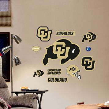 Fathead Colorado Buffaloes Team Logo Assortment Wall Decals