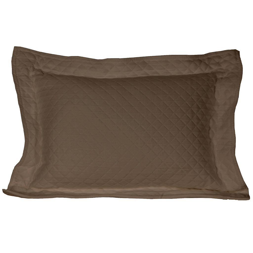 Diamond Matelasse Decorative Pillow