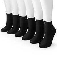Tek Gear® 6-pk. Quarter Socks