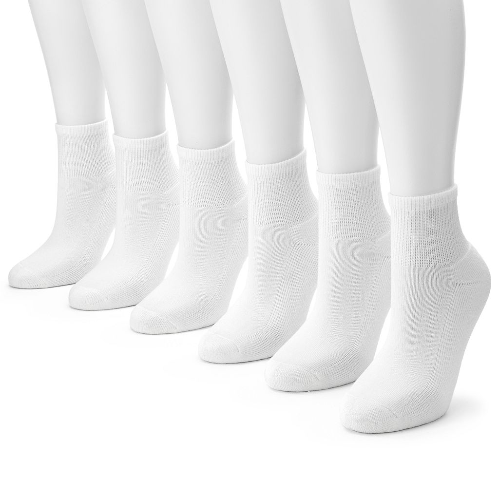 Tek Gear® 6-pk. Quarter Socks