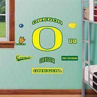Fathead Oregon Ducks Team Logo Assortment Wall Decals