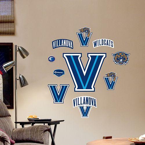 Fathead Villanova Wildcats Team Logo Assortment Wall Decals
