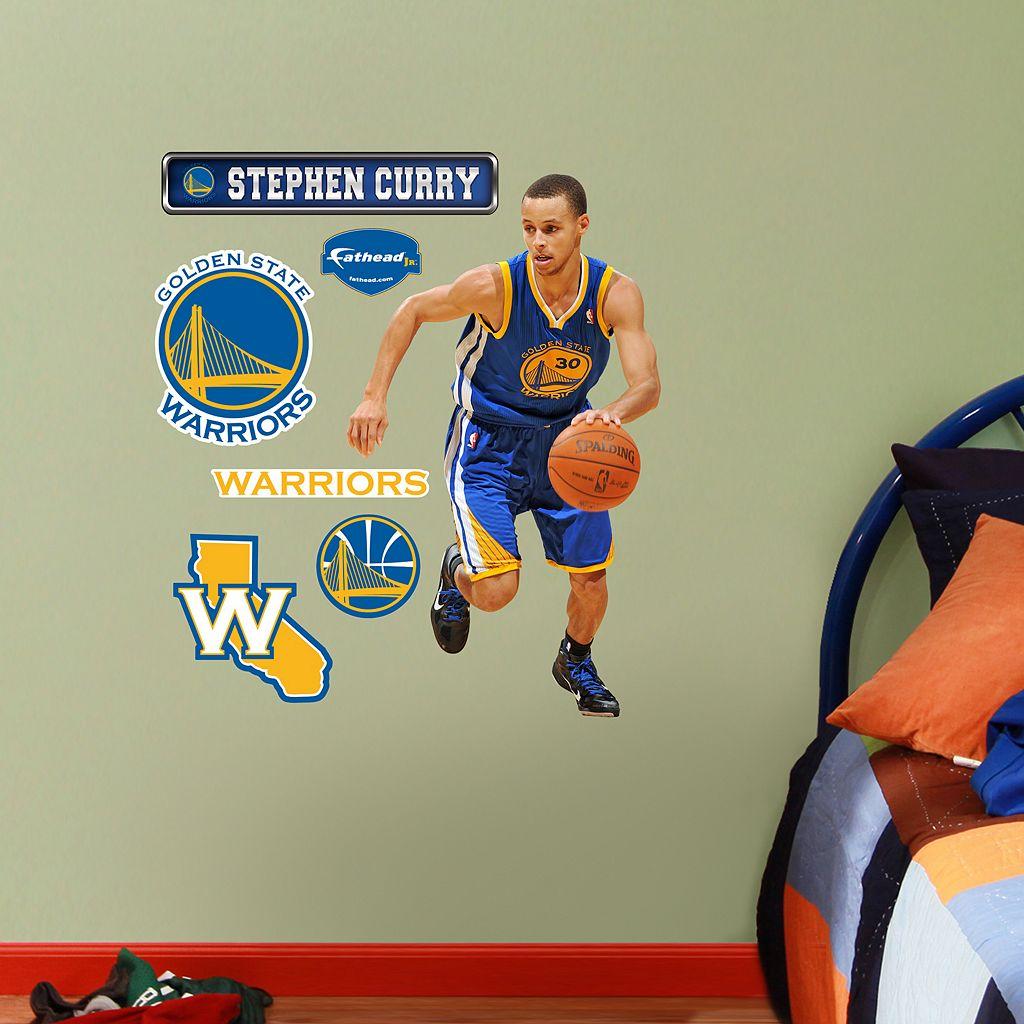 Fathead Jr. Golden State Warriors Stephen Curry Wall Decals
