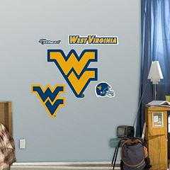 Fathead West Virginia Mountaineers Team Logo Assortment Wall Decals