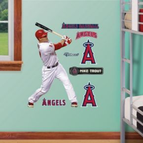 Fathead Jr. Los Angeles Angels Mike Trout Wall Decals