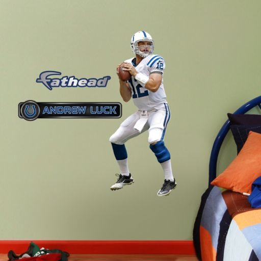 Fathead Jr. Indianapolis Colts Andrew Luck Wall Decals