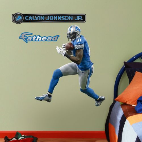 Fathead Jr. Detroit Lions Calvin Johnson Jr. Wall Decals