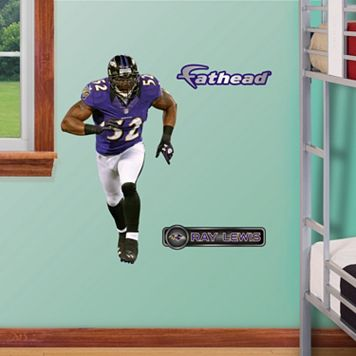 Fathead Jr. Baltimore Ravens Ray Lewis Wall Decals