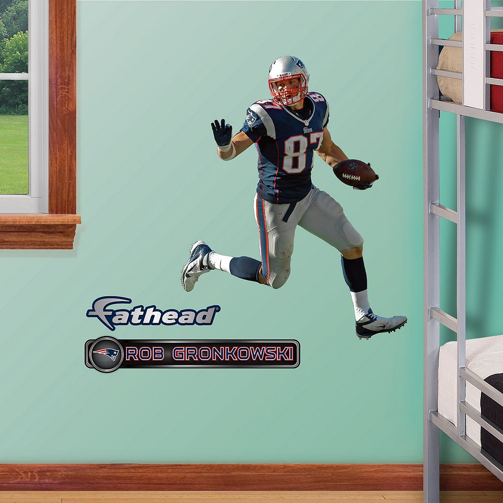 Fathead Jr. New England Patriots Rob Gronkowski Wall Decals