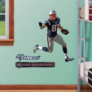 Fathead Jr. New England Patriots Rob Gronkowski Wall Decals