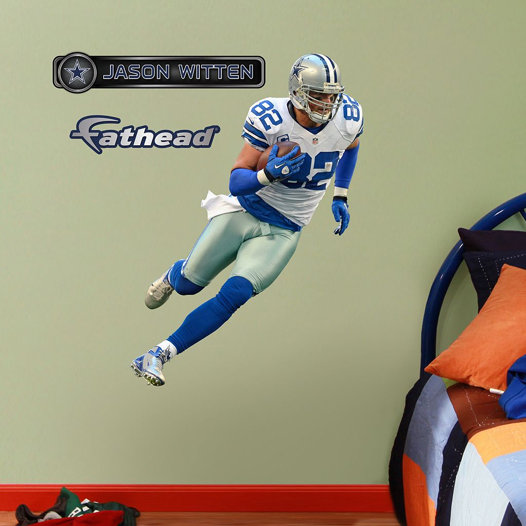 Fathead Jr. Dallas Cowboys Jason Witten Wall Decals