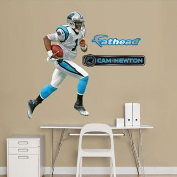 Fathead Jr. Carolina Panthers Cam Newton Wall Decals