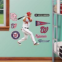 Fathead Jr. Washington Nationals Bryce Harper Wall Decals
