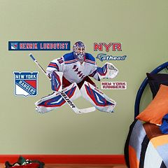 Fathead Jr. New York Rangers Henrik Lundqvist Wall Decals
