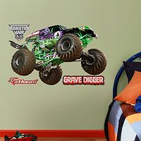 Fathead Monster Jam Gravedigger Jr. Wall Decals