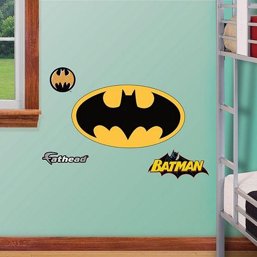 Fathead Jr. Batman Logo Wall Decals