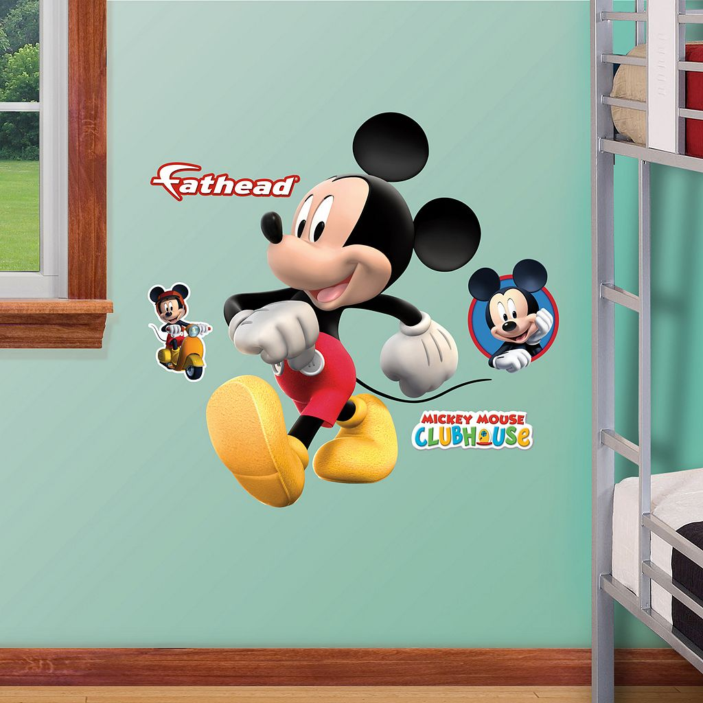 Disney Mickey Mouse Clubhouse Wall Decals by Fathead