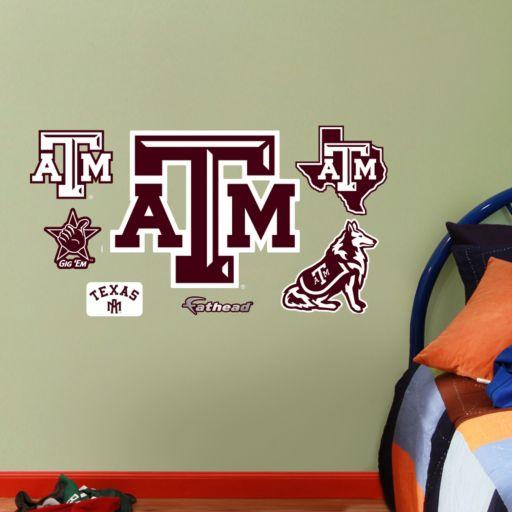 Fathead Texas A&M Aggies Team Logo Assortment Wall Decals