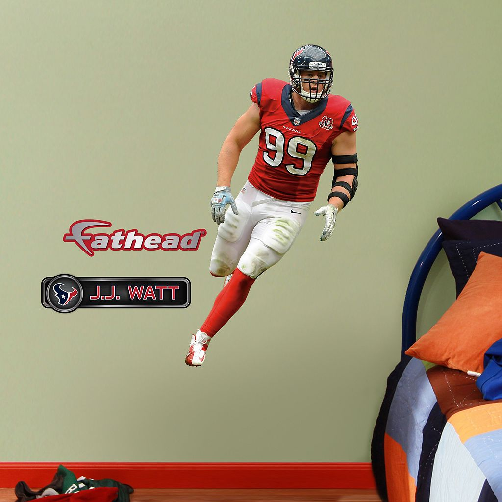 Fathead Jr. Houston Texans J.J. Watt Wall Decals