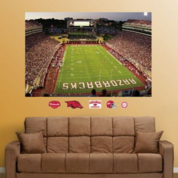 Fathead Arkansas Razorbacks Donald W. Reynolds Stadium Wall Decals