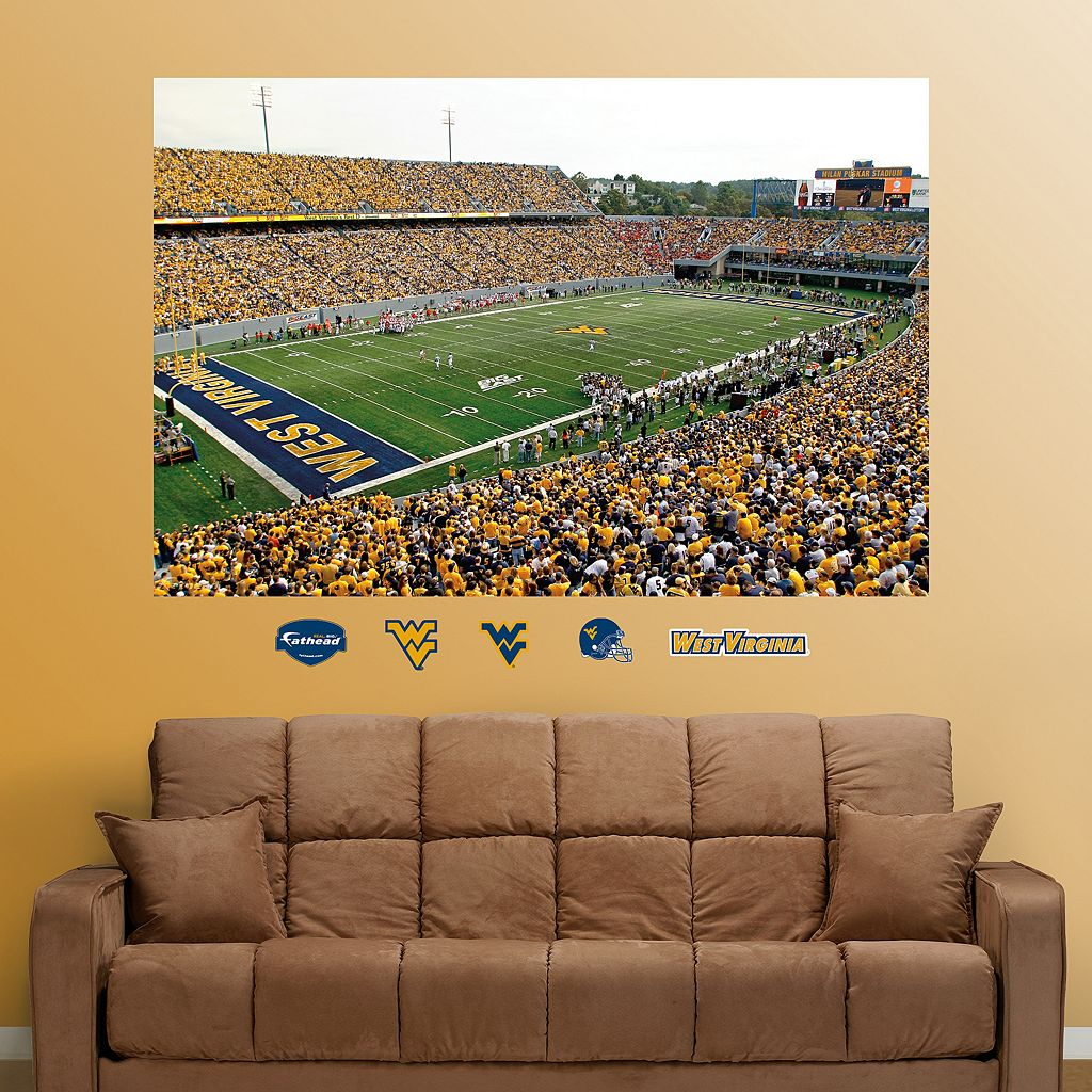 Fathead West Virginia Mountaineers Mountaineer Field Wall Decals