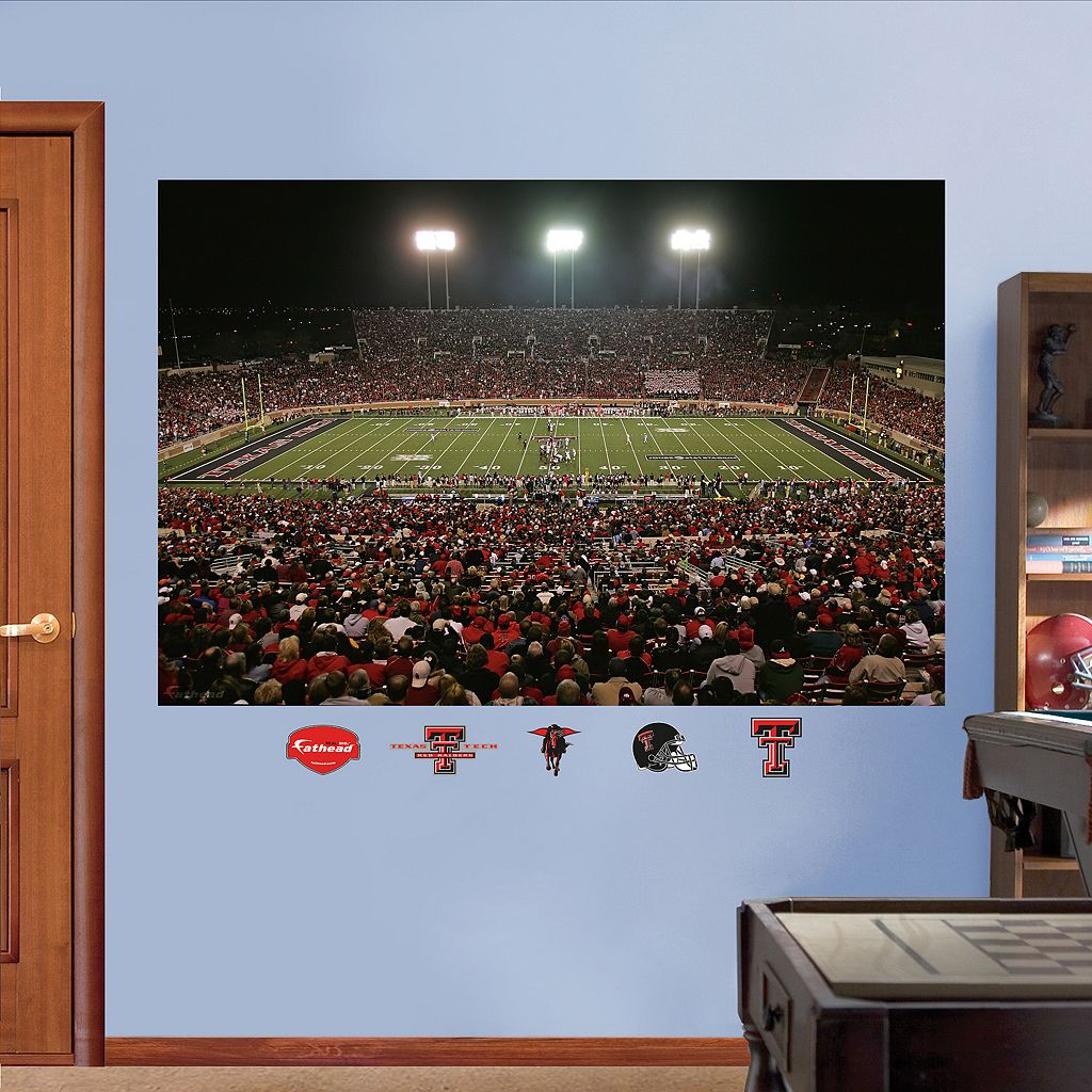 Fathead Texas Tech Red Raiders Jones AT&T Stadium Wall Decals