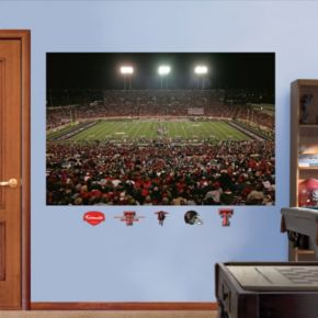 Fathead Texas Tech Red Raiders Jones AT&T Stadium Wall Decals