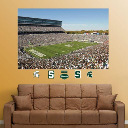 Fathead Michigan State Spartans Stadium Wall Decals
