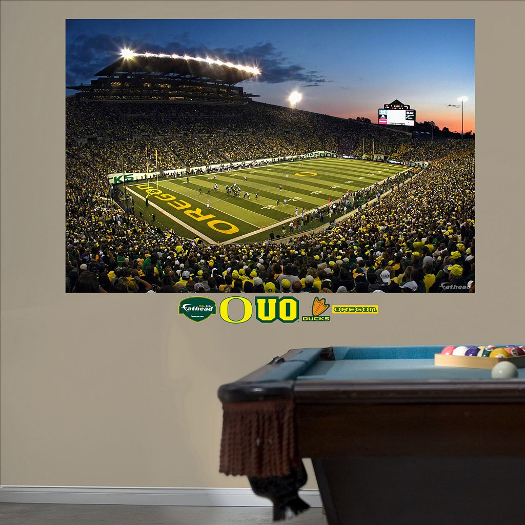 Fathead Oregon Ducks Autzen Stadium Wall Decals