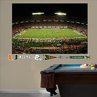 Fathead Miami Hurricanes Sun Life Stadium Wall Decals