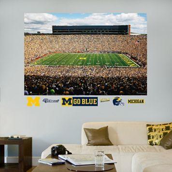 Fathead Michigan Wolverines Stadium Wall Decals