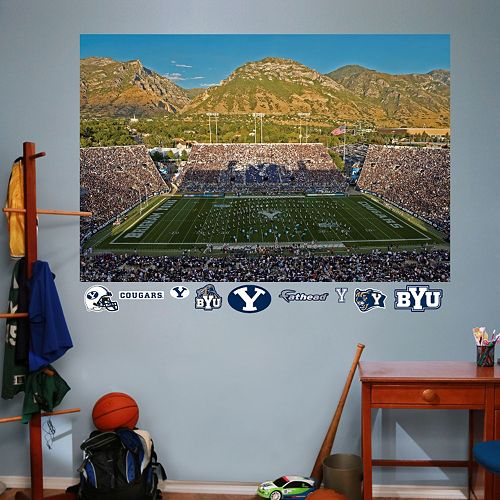 Fathead BYU Cougars LaVell Edwards Stadium Wall Decals