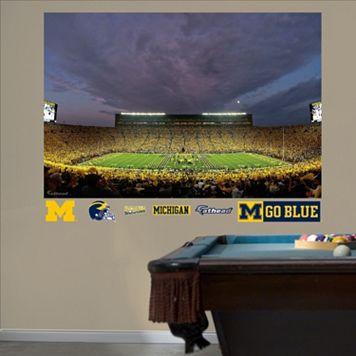 Fathead Michigan Wolverines Stadium Night Wall Decals