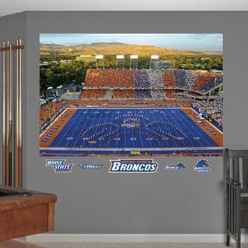 Fathead Boise State Broncos Stadium Mural Wall Decals